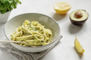 Avocado-Spaghetti-Pesto
