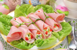 Ham-Roll-With-Chives