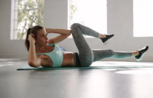 HIIT-Crunches